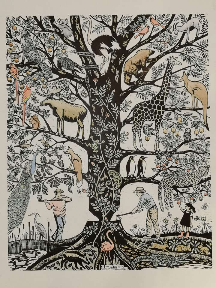 The ecology of a tree