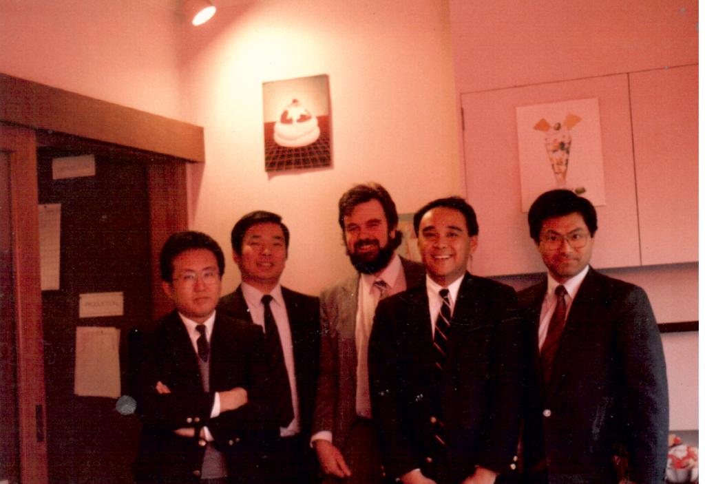 Mitsubishi, Skylark buyer at The Cheesecake Factory 1990