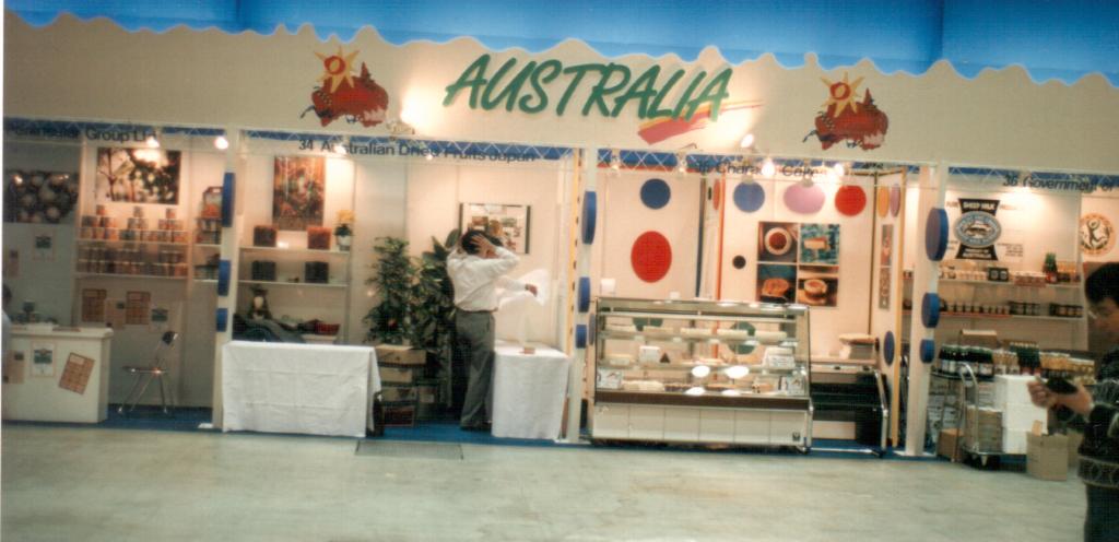 The Cheesecake Factory at Foodex Tokyo 1994