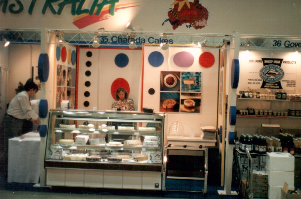 The Cheesecake Factory at Foodex Tokyo 1994.