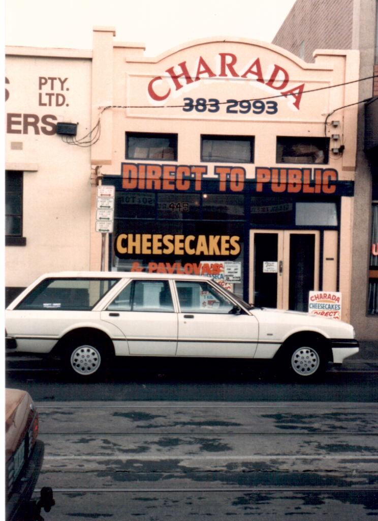 The Cheesecake Factory in 1986 Lygon Street before the Japanese arrived.